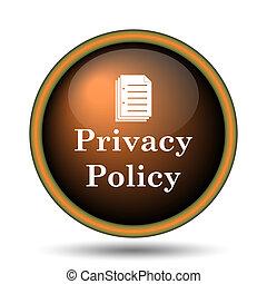 privacy, polis, pictogram