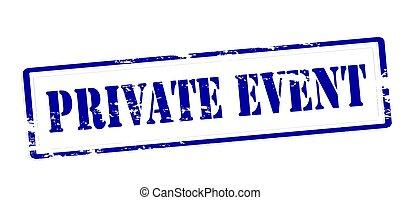 privado, evento
