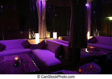 privado, função, lounge