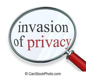 privado, información, aumentar, intimidad, palabras, vidrio...