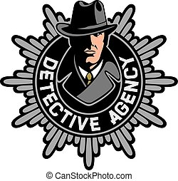 private agency detective label