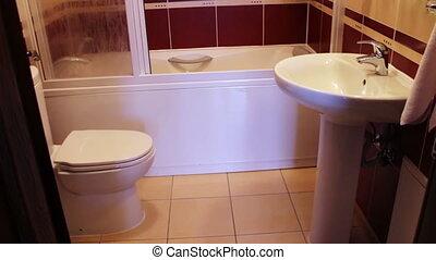 Private Bathroom in Hotel