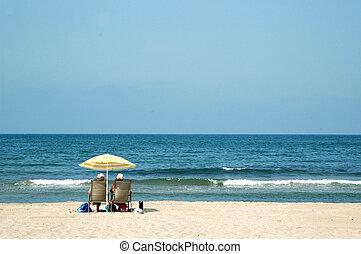 Private-beach - private beach for retired senior people in...