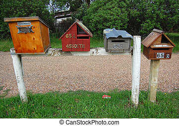 Private disign mail boxes