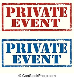 Private Event-stamps