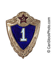 Private First Class mark of the Soviet Army