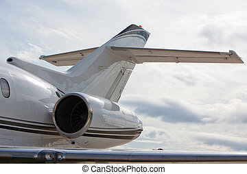 Private jet engine