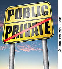 private or public