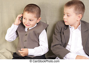 Private phone talk