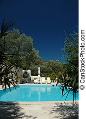 Private Pool - A lovely, quiet swimming pool in Turkey