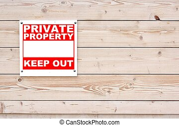 PRIVATE PROPERTY KEEP OUT Sign - PRIVATE PROPERTY KEEP OUT ...