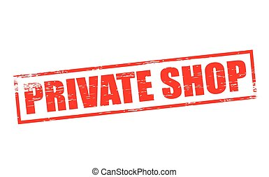 Private shop