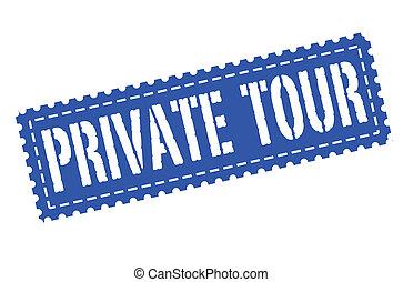 private tour stamp