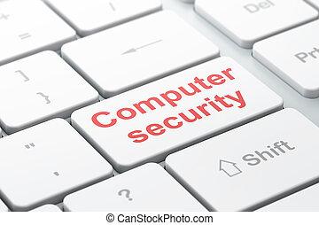 privatleben, concept:, computersicherheit, auf, computertastatur, hintergrund