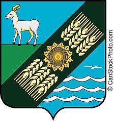 Privolzhsky rayon coa - Various vector flags, state symbols,...