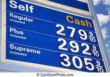 prix, essence