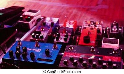 Pro DJ equipment n slowmotion. 1920x1080