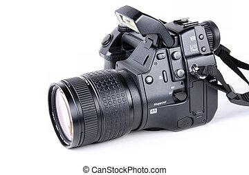 pro, macchina fotografica, slr, digitale