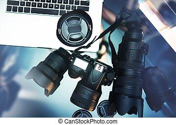 Pro Photographer Desk