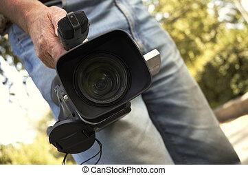 pro, videokamera
