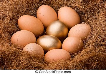 probabilidad, serie, -, zumbido, :, huevo, 2:8