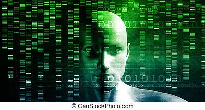 probar genético