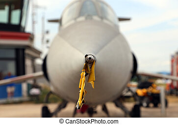 probe tip of the supersonic jet to the airport - steel probe...