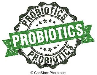 probiotics, stamp., poznaczcie., znak