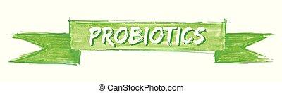 probiotics, wstążka