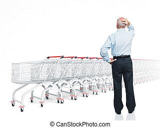 problème, achats