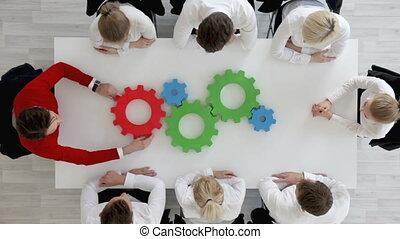 problème, concept, solution, business