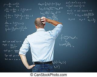 problème, math