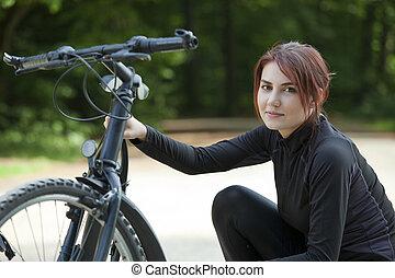 problème, vélo