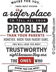probléma, -e, minden, mint, szülők