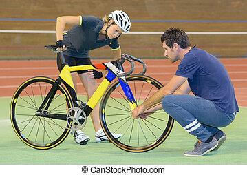 probleem, fiets