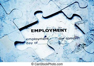 problem, anställning