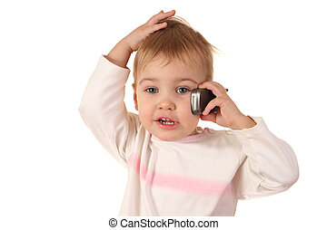 problem baby with phone