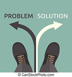 problem, człowiek, rozłączenie
