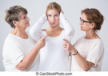 Problem in multigenerational household