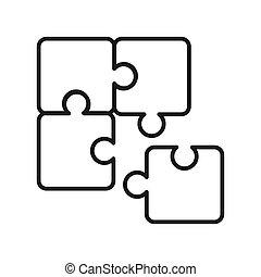 problem, lösen, design, abbildung