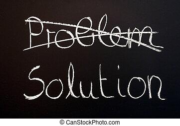problem, loesung, geschaeftswelt