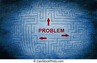 Problem maze concept