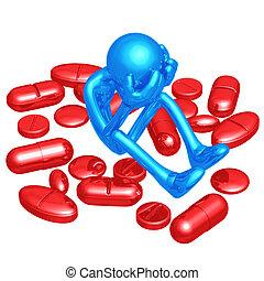 problem, pille