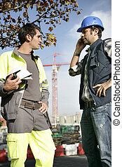 problem, pracownicy zbudowania, manipulacja
