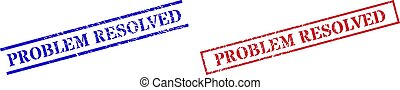 PROBLEM RESOLVED Grunge Scratched Seal Stamps with Rectangle Frame