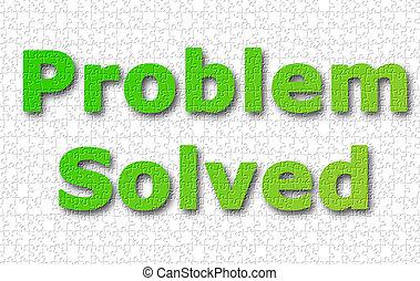 Problem solved background
