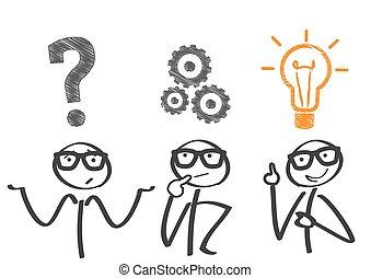 problem-solving, e, implementação