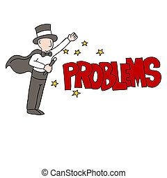 Problem Solving Magician - An image of a problem solving...