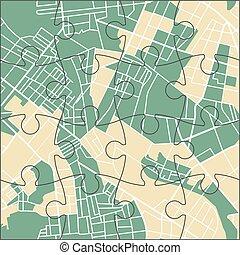 problem, stad kartlagt