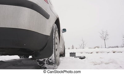 Problem winter launch of a diesel car, freezing of...